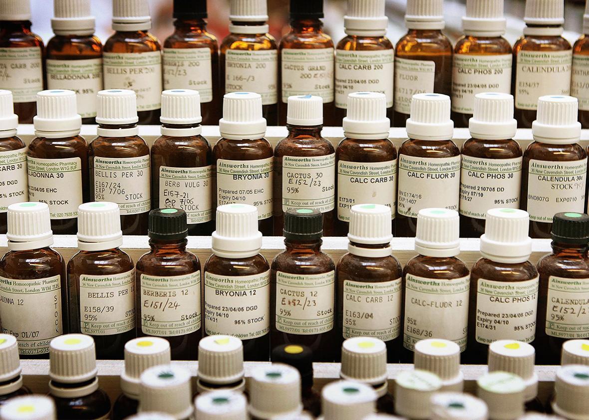 Homeopathy medication